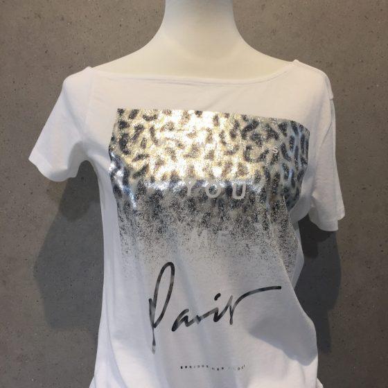 """T-Shirt """"Paris"""" weiß - Lieblingsstücke Wegberg"""