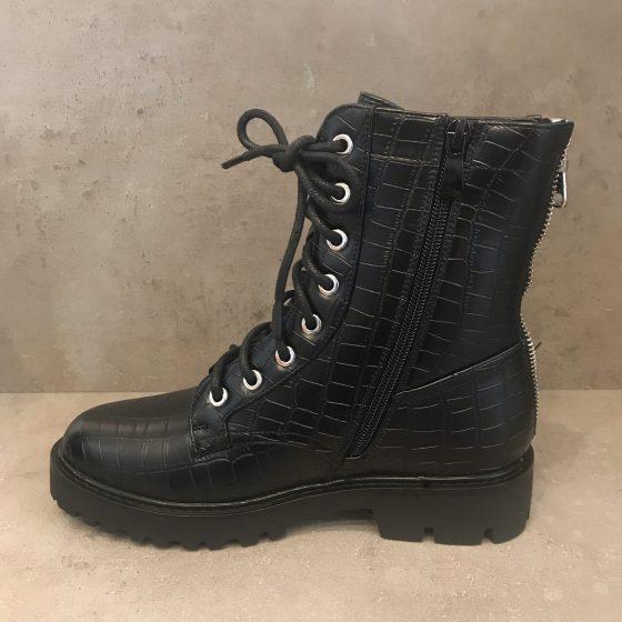 Boots schwarz Detail - Lieblingsstücke Wegberg